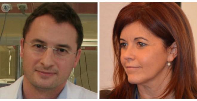 Juan Luis Delgado y Dolores Ruiz Berdún.