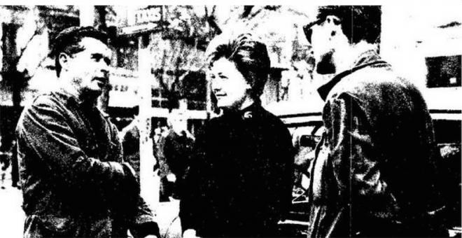 Victoria Vasilievna Judoleeva, la primera taxista de Madrid.