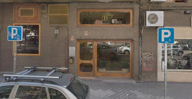 Portal en el que ha tenido lugar el suicidio de una mujer cuando iba a ser desahuciada | Google Maps