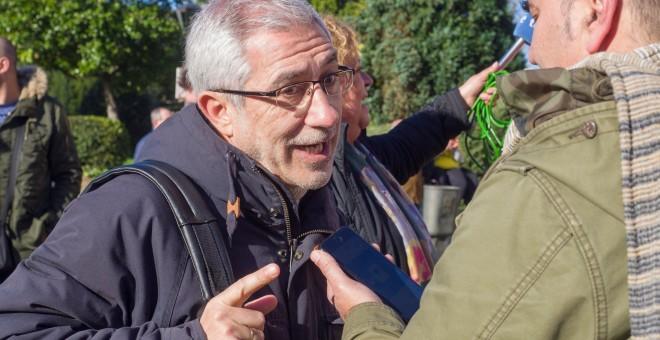 El portavoz de la corriente Izquierda Abierta, Gaspar Llamazares -  EFE/ Eliseo Trigo