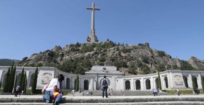Vista general del Valle de los Caídos. EFE/Archivo