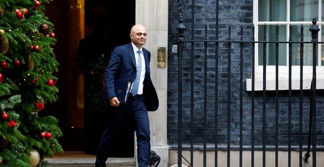 El ministro de Interior británico, Sajid Javid./REUTERS