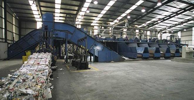 Planta de tratamiento de residuos de Sogama, en Cerceda (A Coruña). / EFE