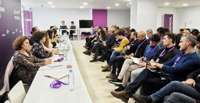 Reunión del Consejo Ciudadano de Podemos
