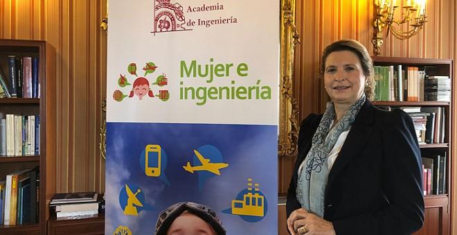 La ingeniera doctora Sara Gómez está orgullosa de dirigir el proyecto Mujer e Ingeniería de la RAI. PÚBLICO