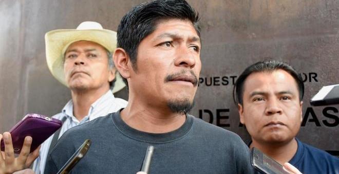 Samir Flores, uno de los principales líderes opositores al proyecto de la termoeléctrica./ EFE