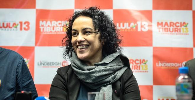 La filósofa y escritora Márcia Tiburi.