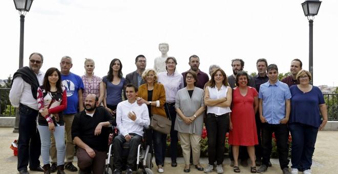 Manuela Carmena y la lista de Ahora Madrid