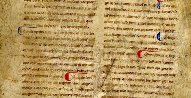 Identifican dos valiosos manuscritos de Bernardo de Brihuega, colaborador de Alfonso X