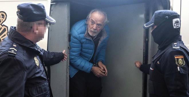 Bartolomé (Tolo) Cursach, rey de la noche de Palma, llega a los juzgados de Palma para declarar tras su detención, en marzo de 2017. CATI CLADERA / EFE