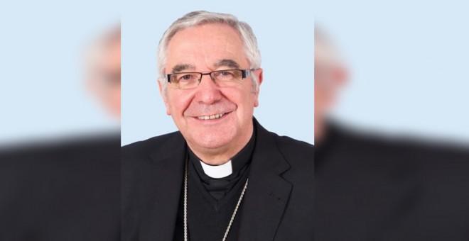 El obispo de Santander.