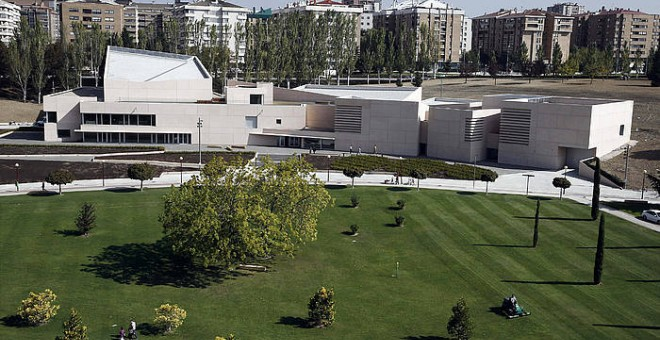 Panorámica del campus de la Universidad de Navarra. EFE/Jesús Diges