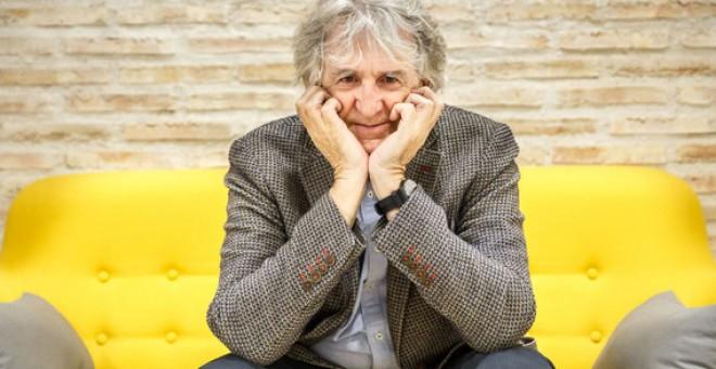 Juan Luis Arsuaga en la sede de la Fundación Gadea Ciencia en Madrid. / Álvaro Muñoz Guzmán (SINC)