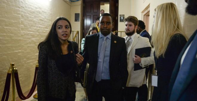 22/05/2019 - Alexandria Ocasio-Cortez en Washington. / REUTERS