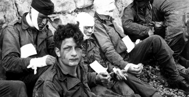 Soldados heridos