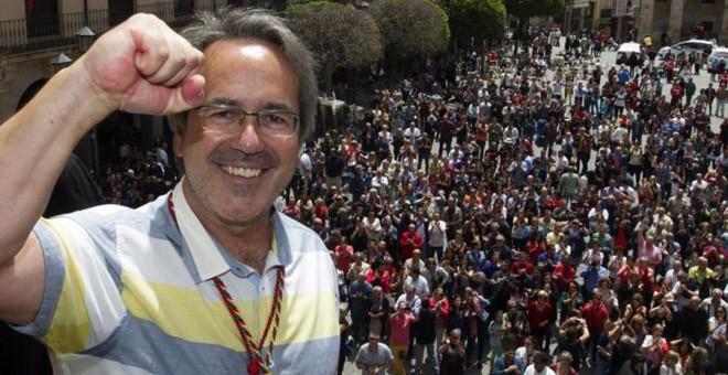 Francisco Guarido, alcalde de Zamora, la única capital de provincia gobernada por Izquierda Unida.