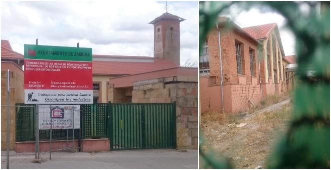 Obras de reforma del antiguo matadero de Zamora. / H. M.
