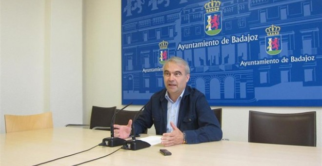 El alcalde de Badajoz, Francisco Javier Fragoso. EUROPA PRESS