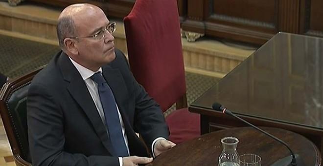 El coordinador del dispositivo designado para impedir el 1-O, el coronel Diego Pérez de los Cobos. Europa Press