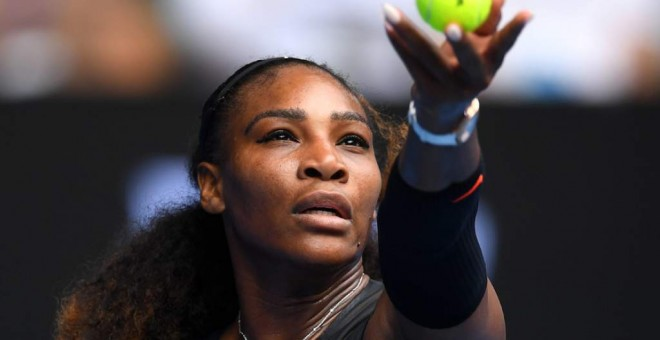 Serena Williams en un partido. / EFE