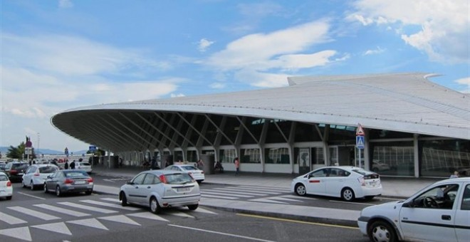 Aeropuerto de Bilbao. EUROPA PRESS/Archivo
