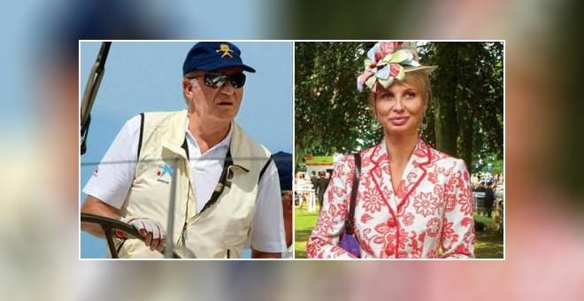 El rey Juan Carlos I y Corinna zu Sayn-Wittgenstein, en una imagen de archivo.