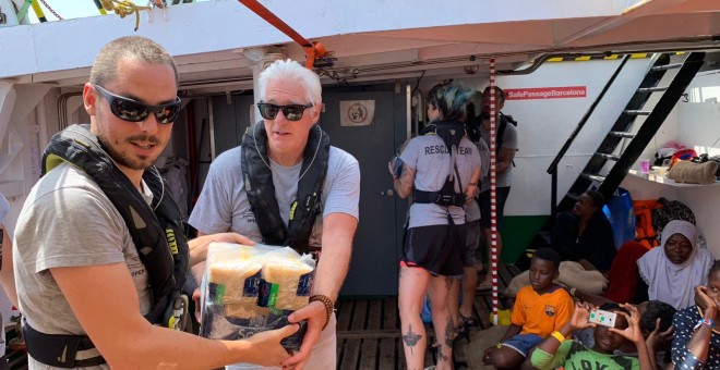 Richard Gere a bordo del buque humanitario | Open Amrs