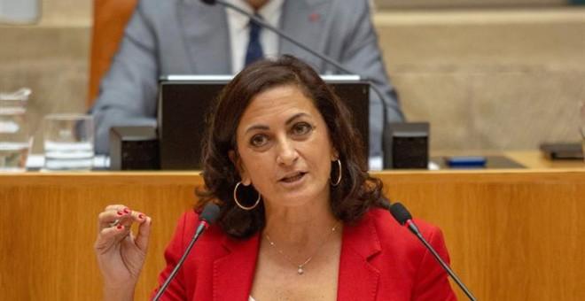 La candidata socialista a la Presidencia del Gobierno de La Rioja, Concha Andreu.- EFE
