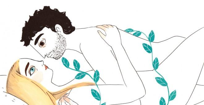 Una de las ilustraciones que componen 'El Placer', de María Hesse.- LUMEN