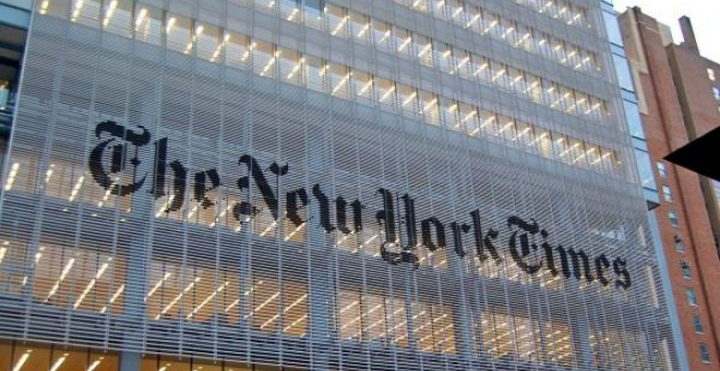 La sede de 'The New York Times', en Nueva York, EE UU. HAXORJOE / WIKIMEDIA COMMONS