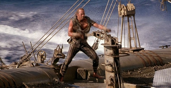 Kevin Costner en 'Waterworld'.