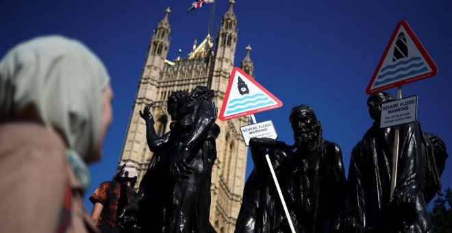 20-09-2019.- Protestas ecologistas en Londres. REUTERS/Hannah McKay
