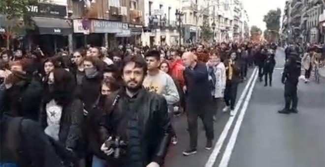 Manifestación en Madrid por la amnistía de los presos del 'procés'