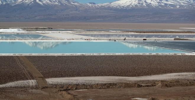 La lucha por el agua plantea dudas sobre la minería de litio en Chile./ REUTERS