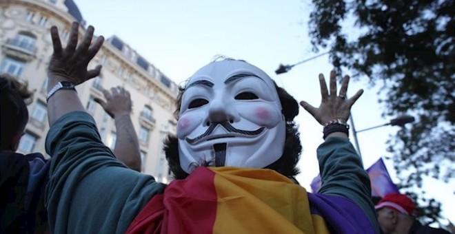 Imagen de archivo de la manifestación 'Rodea el Congreso'. / Europa Press
