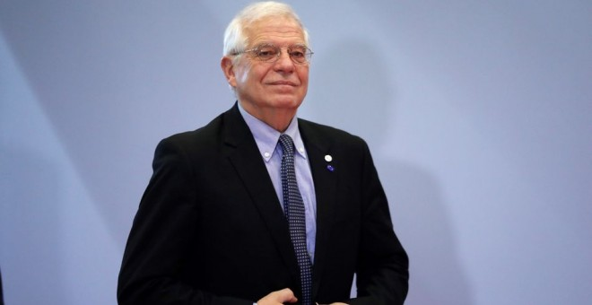 El flamante Alto Representante de la UE, el español Josep Borrell, el lunes en la apertura de la Cumbre del Clima de Madrid.EFE/Zipi