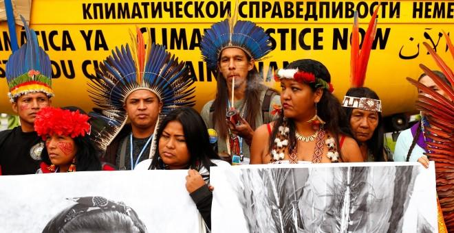 Protesta de activistas indígenas en la Cumbre del Clima de Madrid | REUTERS-Javier Barbancho