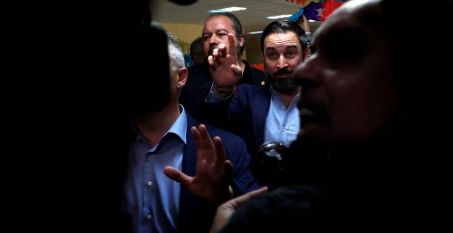 Santiago Abascal, líder de Vox. REUTERS