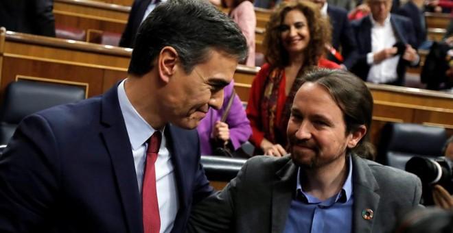 Pedro Sánchez, quien logró este martes la confianza del Congreso para un nuevo mandato como presidente del Gobierno
