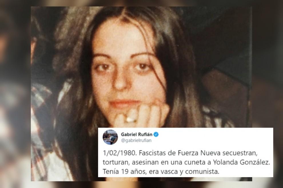 """""""A día de hoy el Estado no responde"""": la dura crítica de Rufián sobre la última víctima del franquismo"""