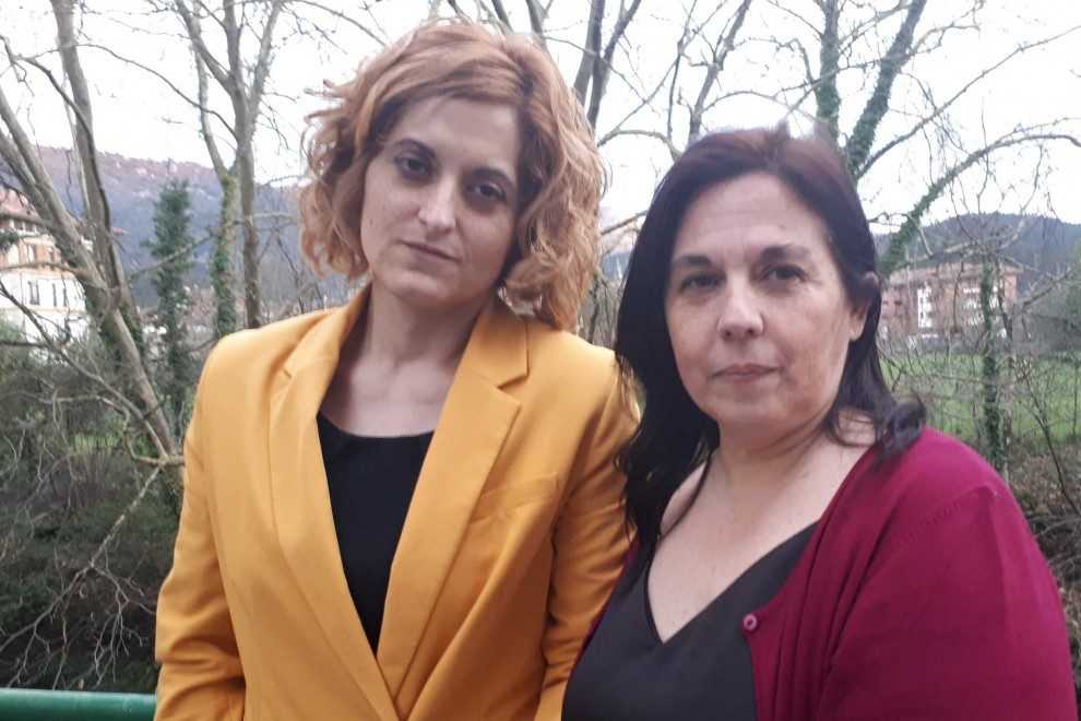 Irune Costumero y Ester Ruiz