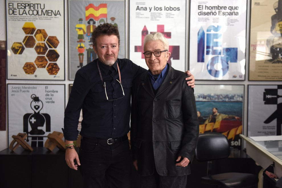 José María Cruz Novillo y Pepe Cruz. / FERNANDO SÁNCHEZ