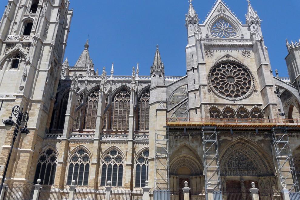 La catedral de León. WIKIMEDIA