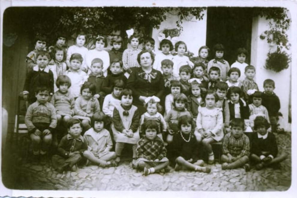 La maestra Gertrudis Ríos, asesinada por el franquismo.