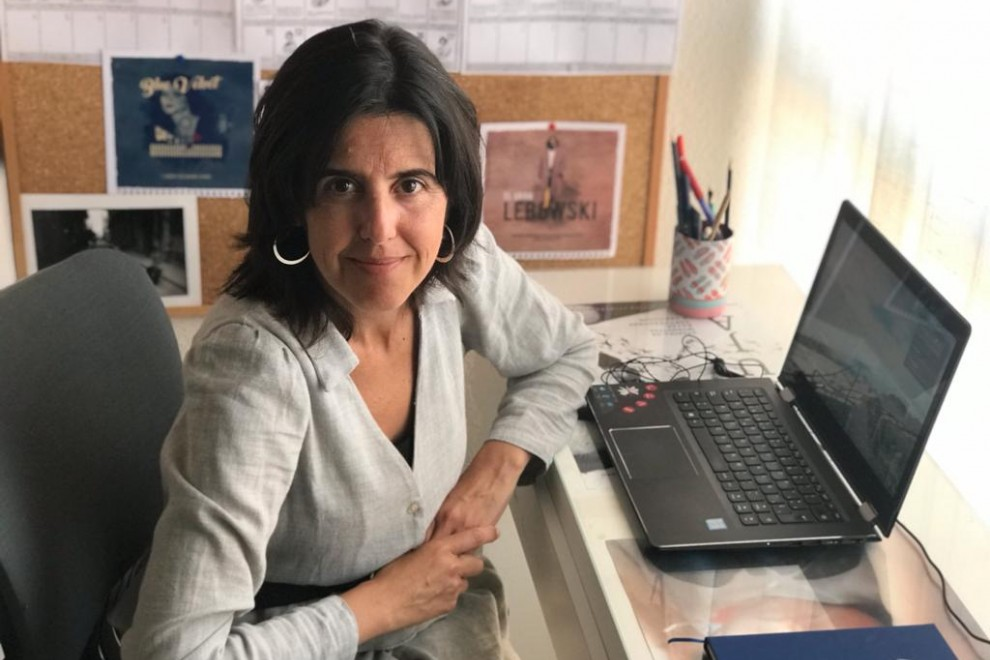 Elena Lázaro, presidenta de la Asociación Española de Comunicación Científica (AECC).