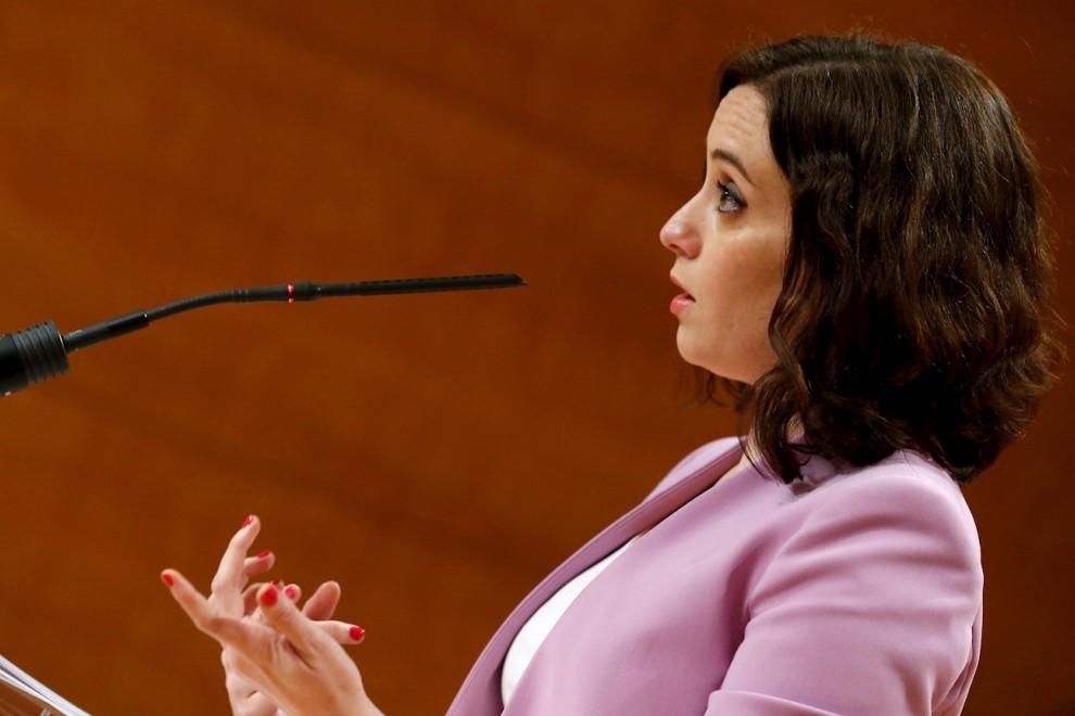 La presidenta de la Comunidad de Madrid, Isabel Díaz Ayuso. EFE/Javier Lizón/Archivo
