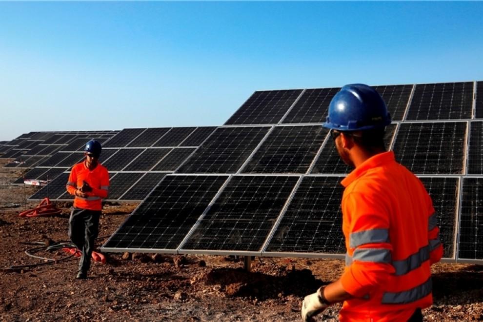 Planta solar fotovoltaica Núñez de Balboa en Extremadura.