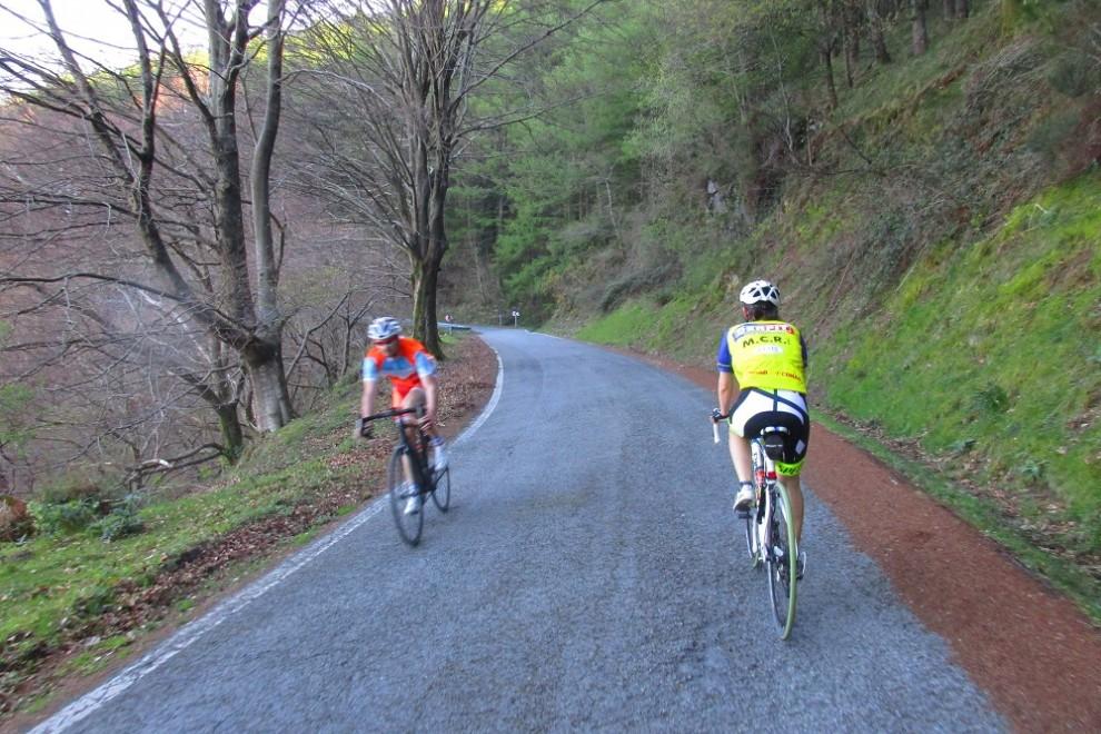 Carretera de Aritxulegi y Agina. ANDER IZAGIRRE