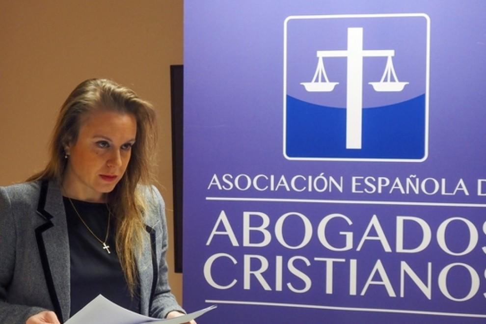 La presidenta de la Asociación Abogados Cristianos, Polonia Castellanos. EFE