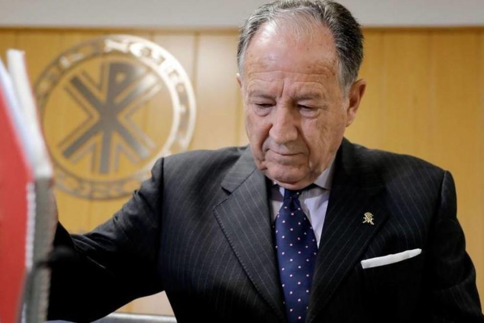 El director del CNI, general Félix Sanz Roldán, en una imagen de archivo. EFE